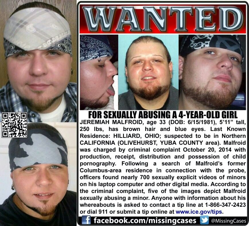 Parents Beware This Guy Sexualy Abused A 4 Yr Old Girl And Is On
