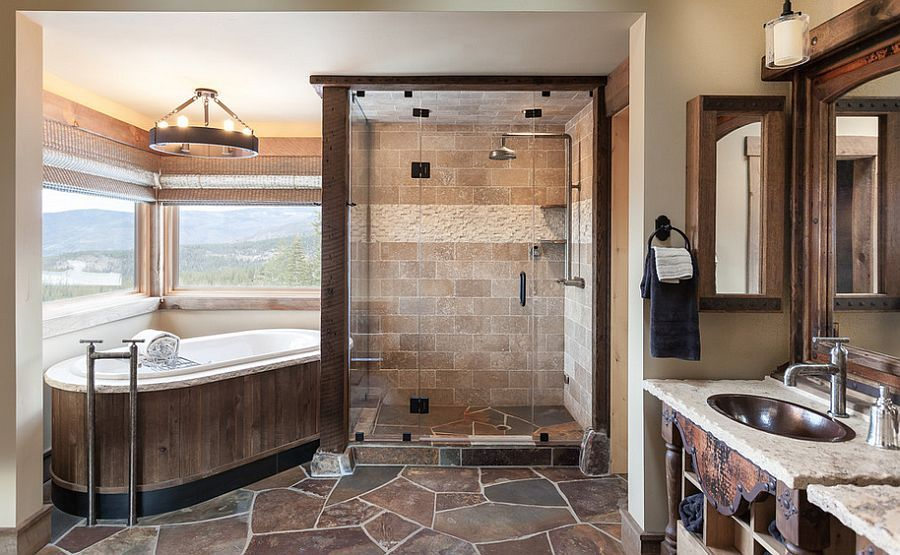 stunning moroccan influences 33 dreamy bedrooms that blend rich color | 50 Enchanting Ideas for the Relaxed, Rustic Bathroom ...