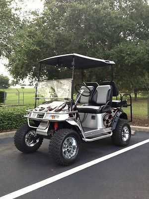 custom ezgo golf cart bodies   ezgo golf cart - custom - one of a kind -  used for sale in clermont