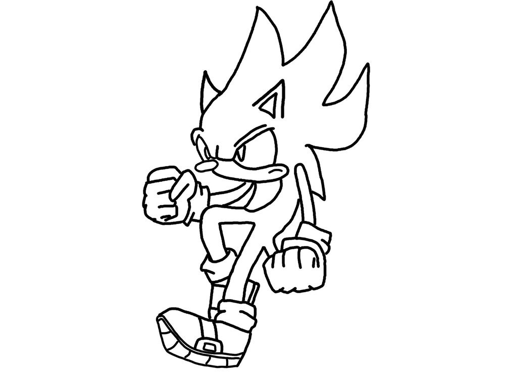 Sonic Coloring Pages To Print Coloring Printable Print Out