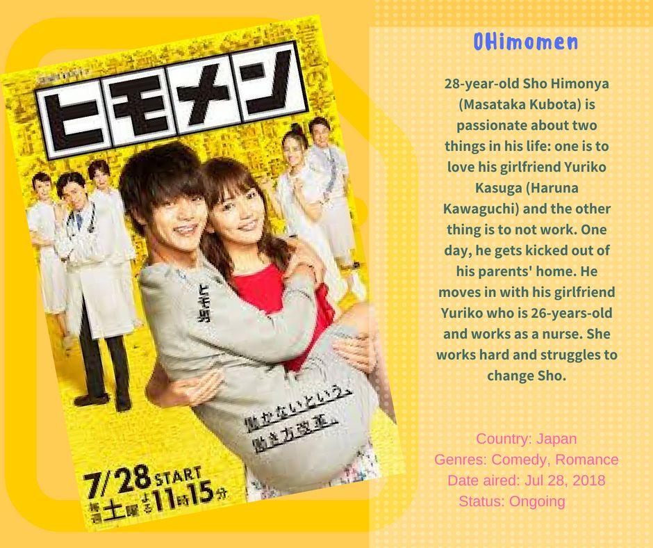 Japanese TV Series 2018 Comedy, Romance (con imágenes)
