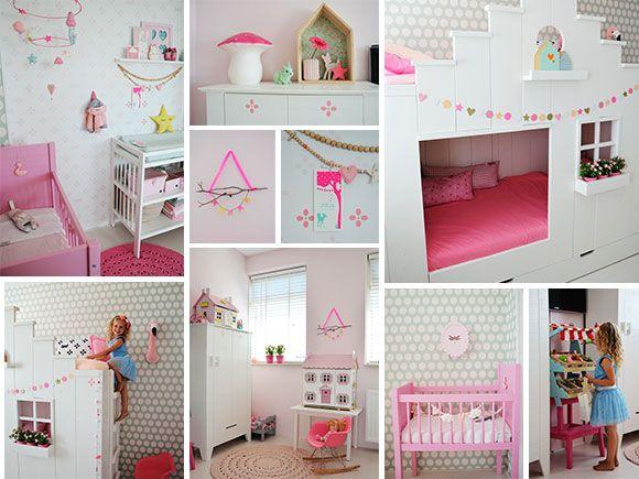 babykamer, ideeën, inspiratie, kinderkamer, meisje, pastel, Deco ideeën