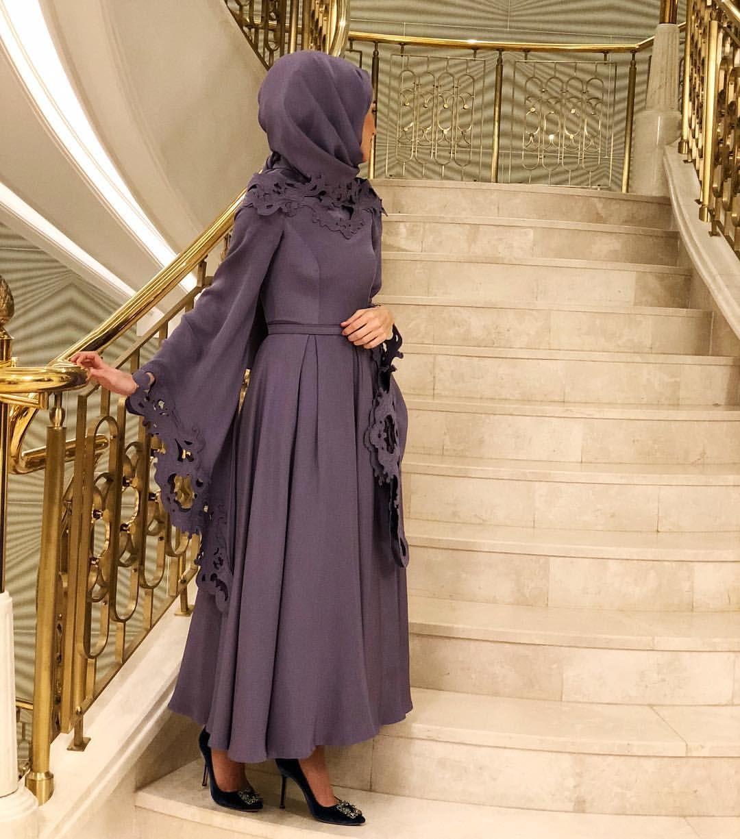 Pin By Ipekce On Abaya Fashion Hijab Fashion Abaya Fashion