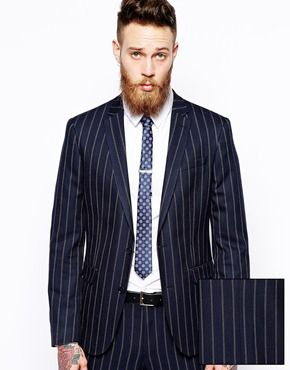 ASOS Skinny Pinstripe Suit. Re-stock please! | Men's Fashion ...
