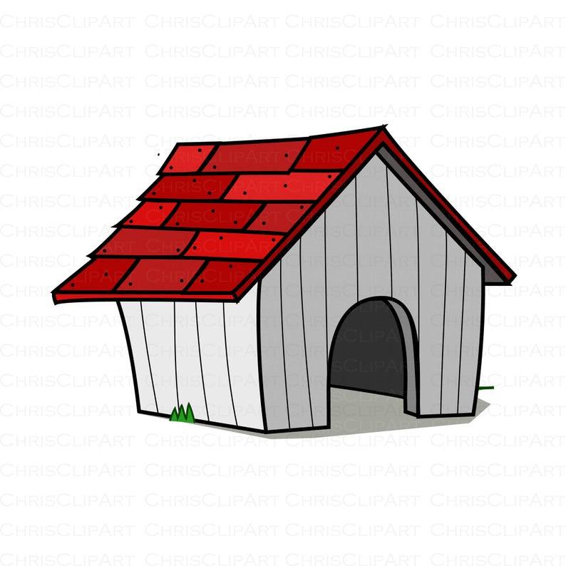Dog House Clipart Dog Svg Dog Png Dog Clip Art Doghouse Etsy Dog House Dog Clip Art Clip Art