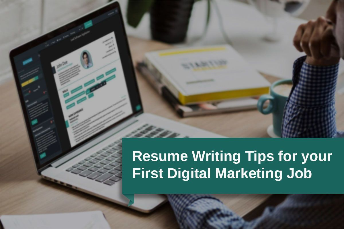Digital marketing resume building tips for freshers