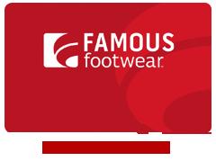 Famous footwear rewards