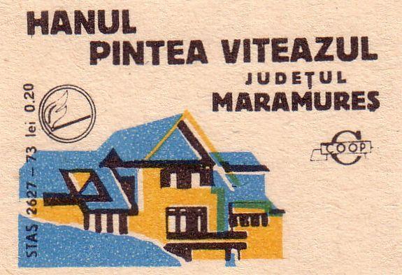 Romanian Matchbox Labels ~ Inns