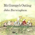 """""""Mr. Gumpy's Outing"""" is geared towards preschool age.  It's won several awards for its illustrations."""