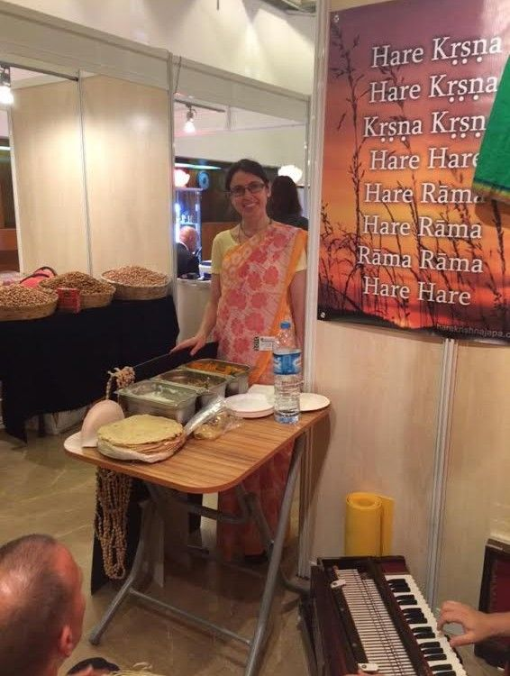 By Nrsimha Krsna das We don't have chance to do public sankirtan here in Turkey yet, however we use every chance to distribute Srila Prabhupada's books. Our Srila Prabhupada Marathon started with a…