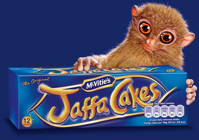 1 x Jaffa Cakes Biscuit