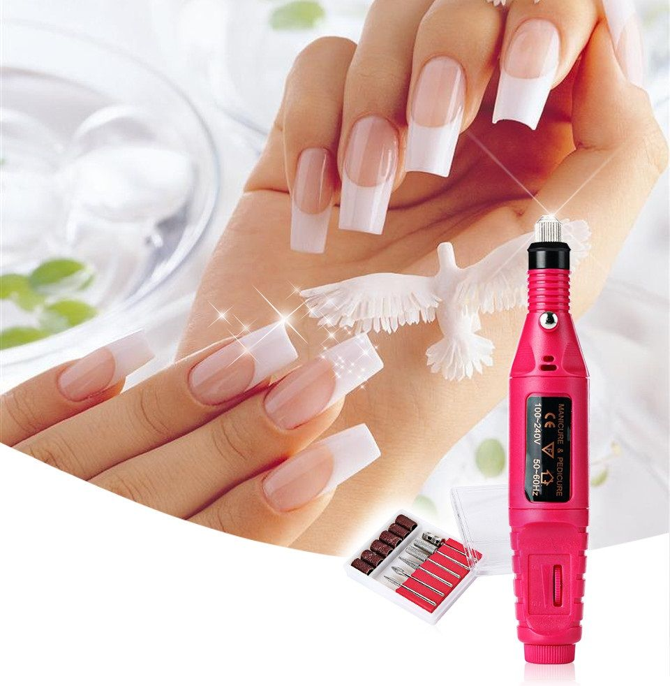 Electric Manicure And Pedicure Set in 2019 Nail art tool