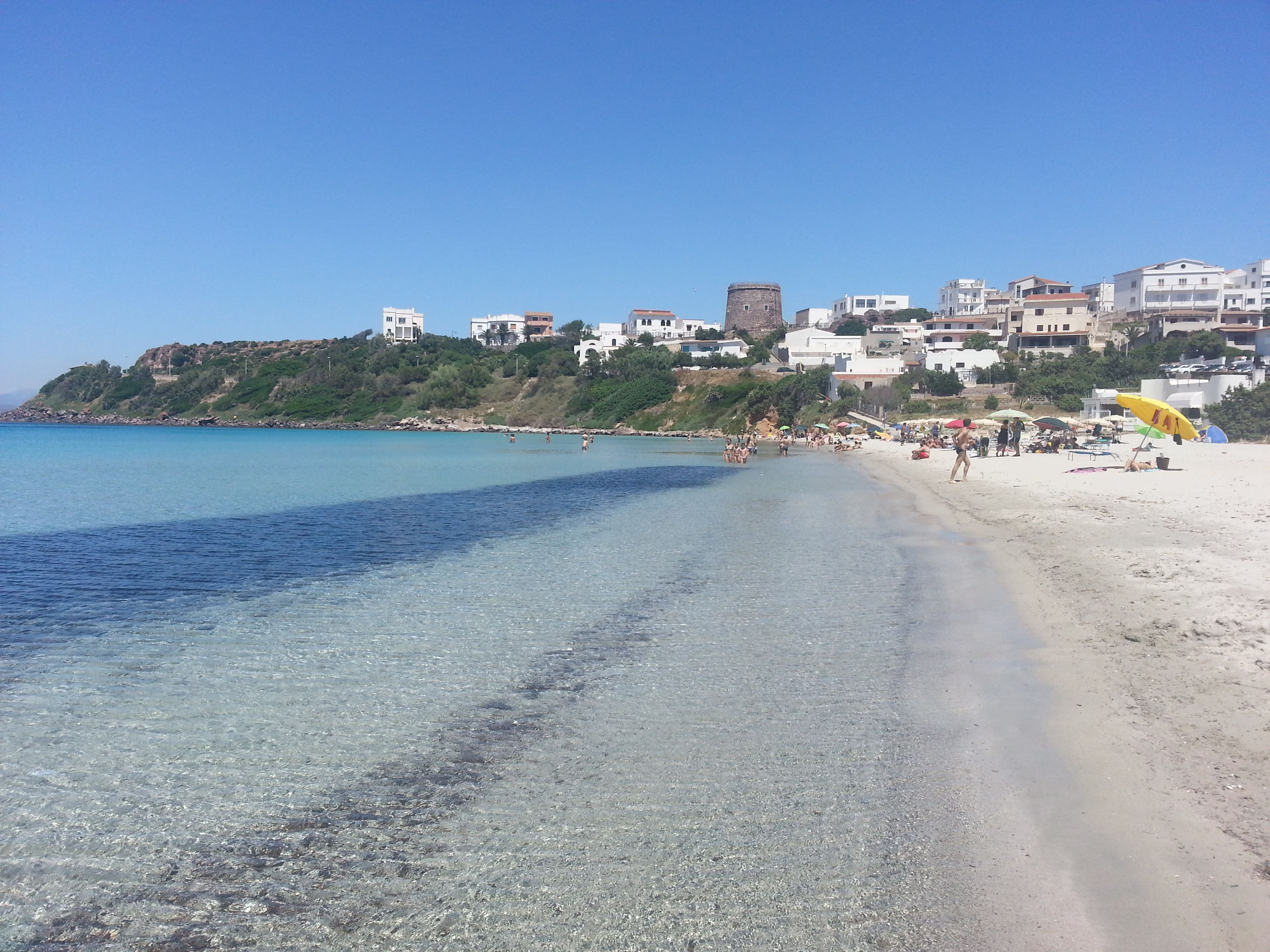 1 Spiaggia Calasetta S Antioco 3 West Coast Beaches Italia
