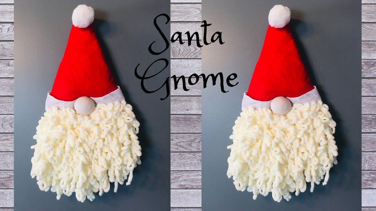 Simple and Inexpensive Christmas Gnome DIY - YouTube #christmasgnomes