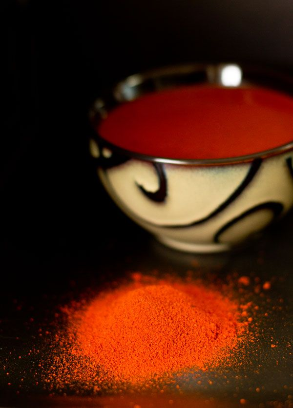 Red Chile Sauce made from chile powder mjskitchen.com @MJsKitchen