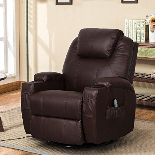 Groovy Esright Massage Recliner Chair Heated Pu Leather Ergonomic Ibusinesslaw Wood Chair Design Ideas Ibusinesslaworg