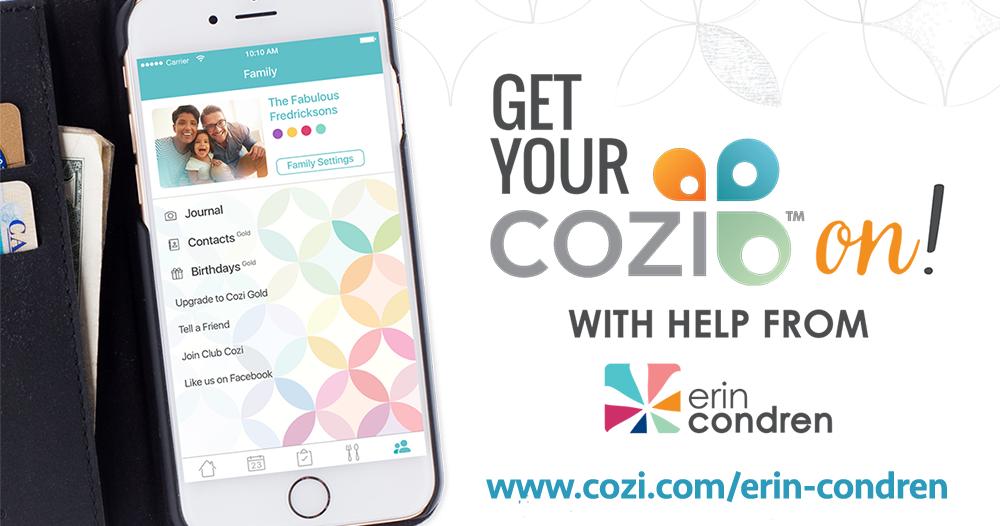 Cozi, styled by Erin Condren Family organizer, Life