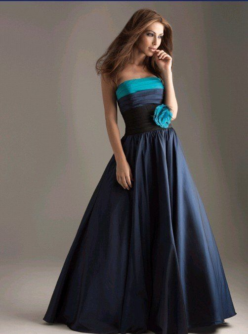 black and blue prom dresses | Prom Dresses and Glamour | Pinterest ...