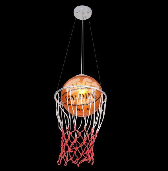 Basketball Lamp Football Light Child Cartoon Dining Room Pendant Light  Bedroom Lamp Study Light Bar Sports