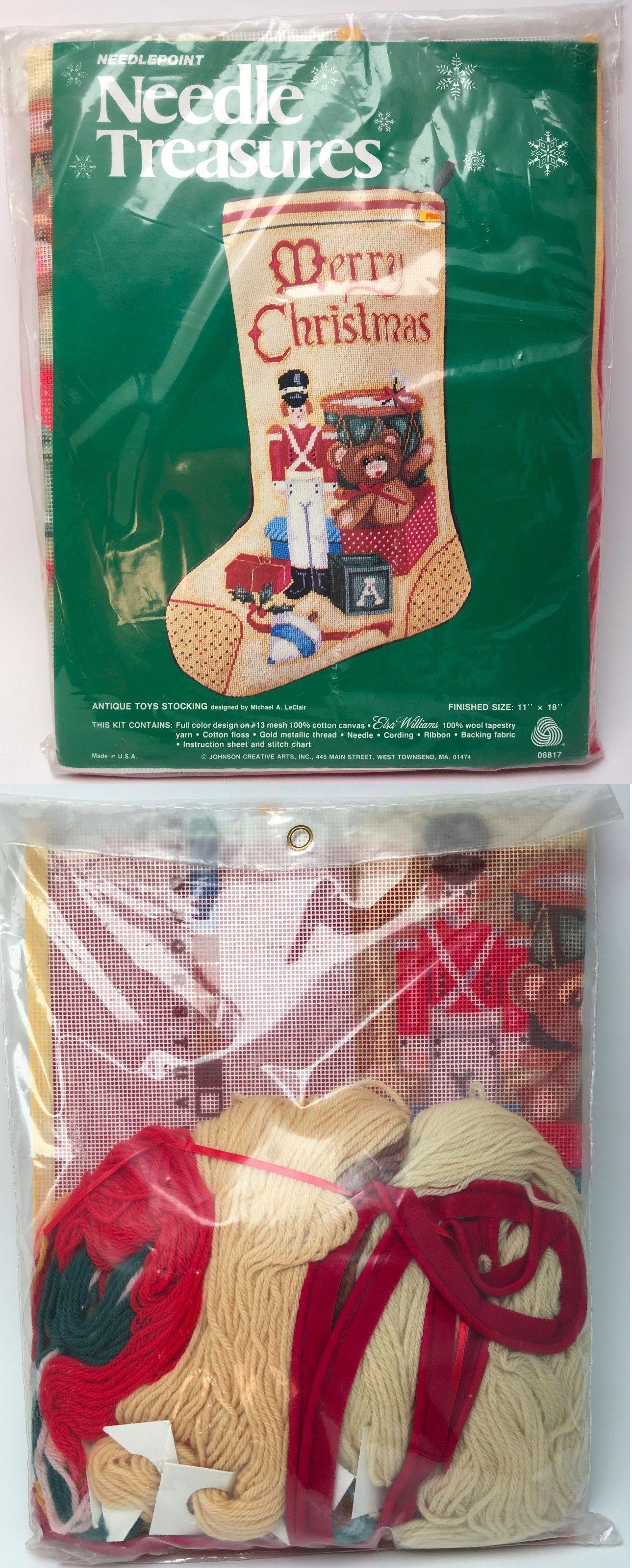 Needlepoint Kits 3109: Needle Treasures Needlepoint Antique Toys ...