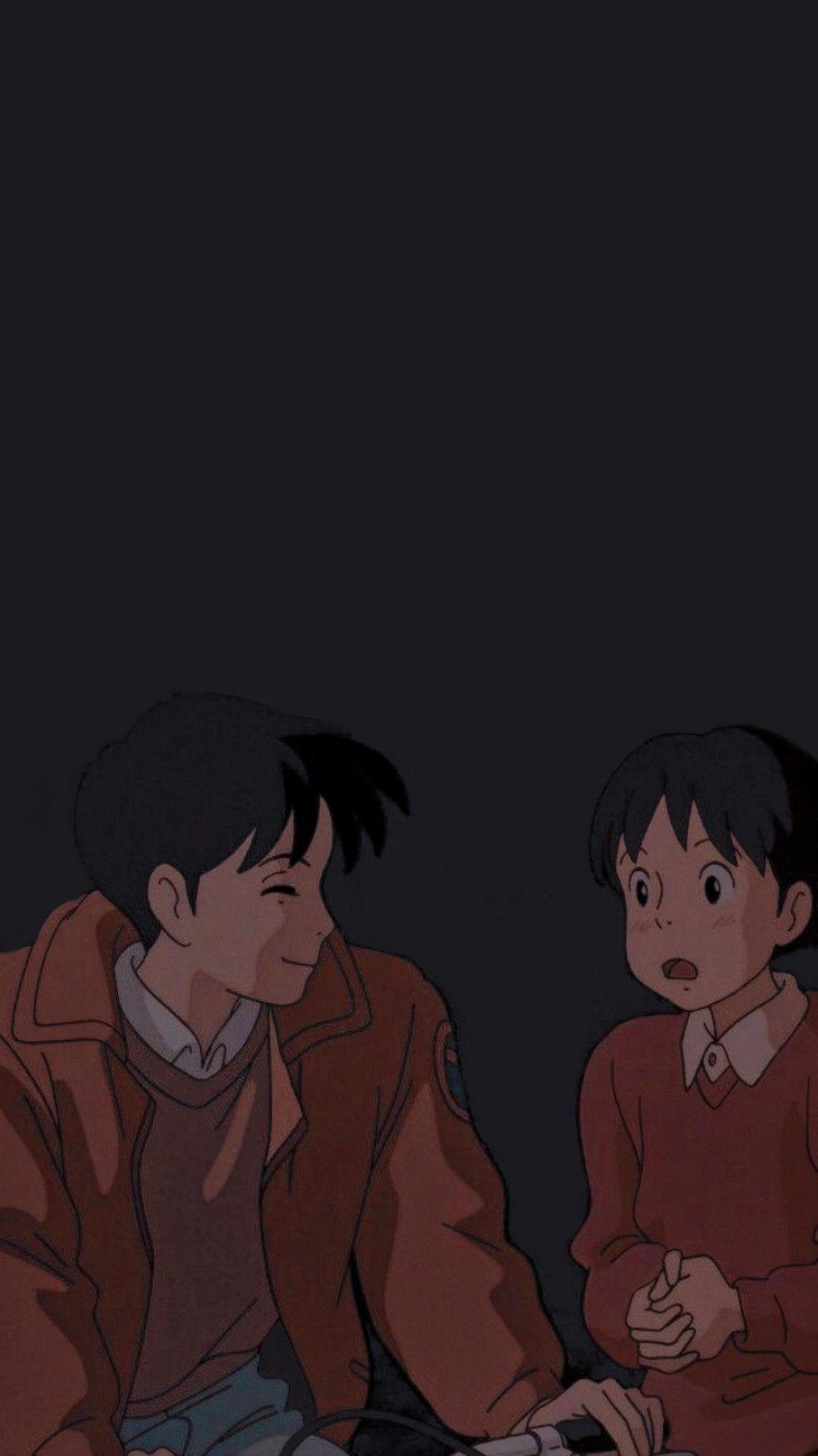 Whisper Of The Heart Wallpaper Studio Ghibli Art Ghibli Artwork Studio Ghibli Characters Anime movie art wallpaper