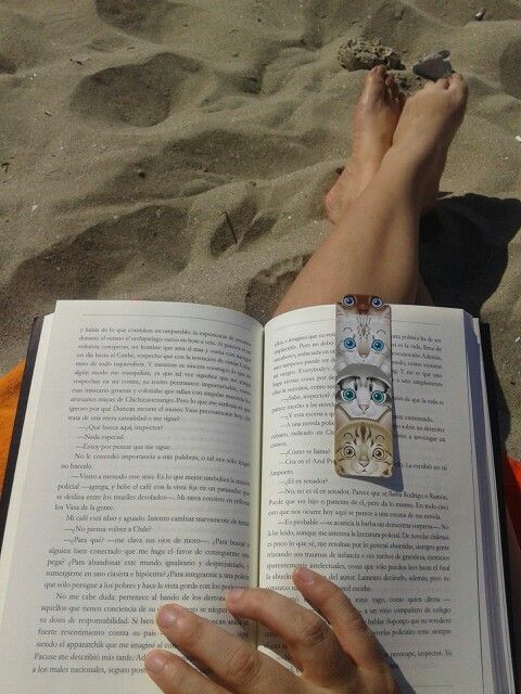 Mi marca paginas~una tarde de playa
