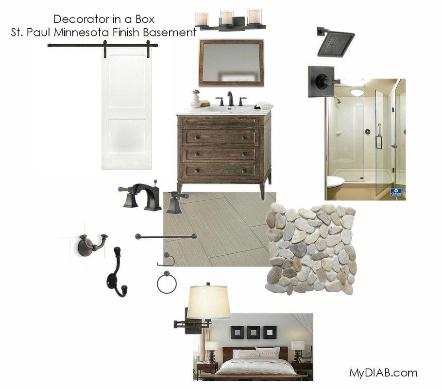 Decorator In A Box Glamorous Sneak Peek  Stpaul Minnesota Finished Basement  Decorator In Design Decoration