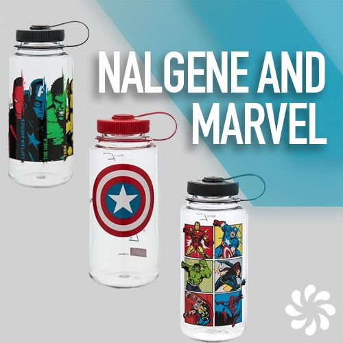 595555c6a8 Are you a true Marvel superfan? Collect all your favorite characters' water  bottles, from Captain America to Groot to Iron Man, from the Nalgene Marvel  ...