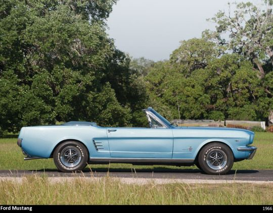 1966 Ford Mustang Side View | Ford Mustang 64 65 66 ...