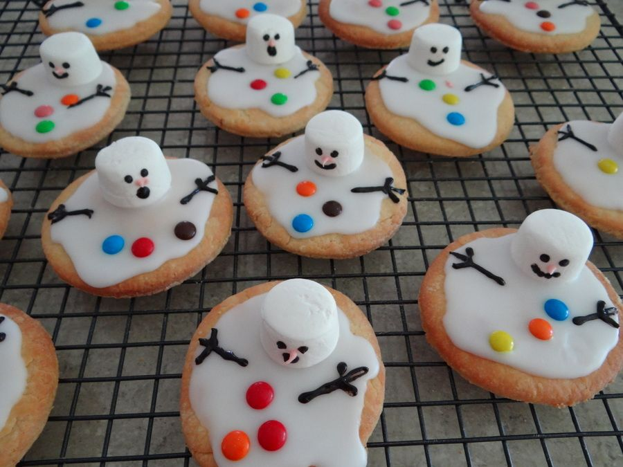 Melted Snowman Biscuits It Is That Time Of Year And Soon We Will Be