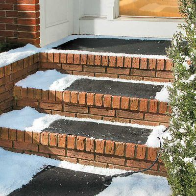 Best Cover Your Steps And Walkway With Electric Heated Stair 400 x 300