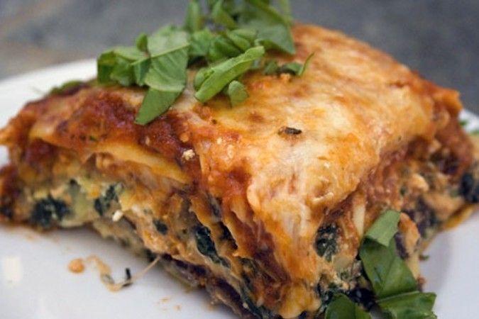Recipe easy vegetarian lasagna