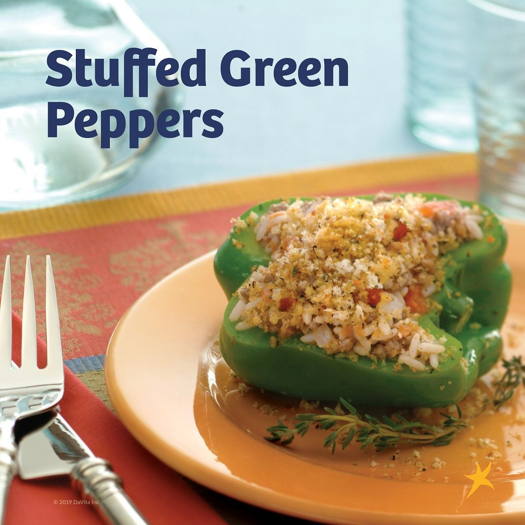 Spring Is In The Air Try One Of These Springtime Kidney Friendly Recipes Like Stuffed Green Peppers A Kidney Friendly Foods Kidney Recipes Springtime Recipes