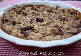 Mommy's Kitchen - Old Fashioned & Country Style Cooking: Yummy Caramel Apple Crisp