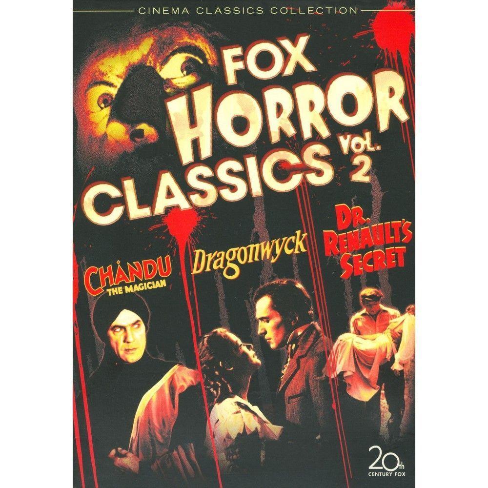 Fox Horror Classics Collection, Vol. 2 [3 Discs]