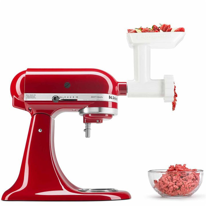 Kitchen aid kitchenaid food grinder mixer attachment fga