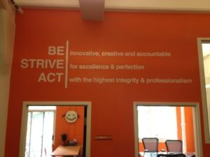 Simple Straightforward Mission Statement With Highlighted Action Words Makes It Easy For Customers And Employees To