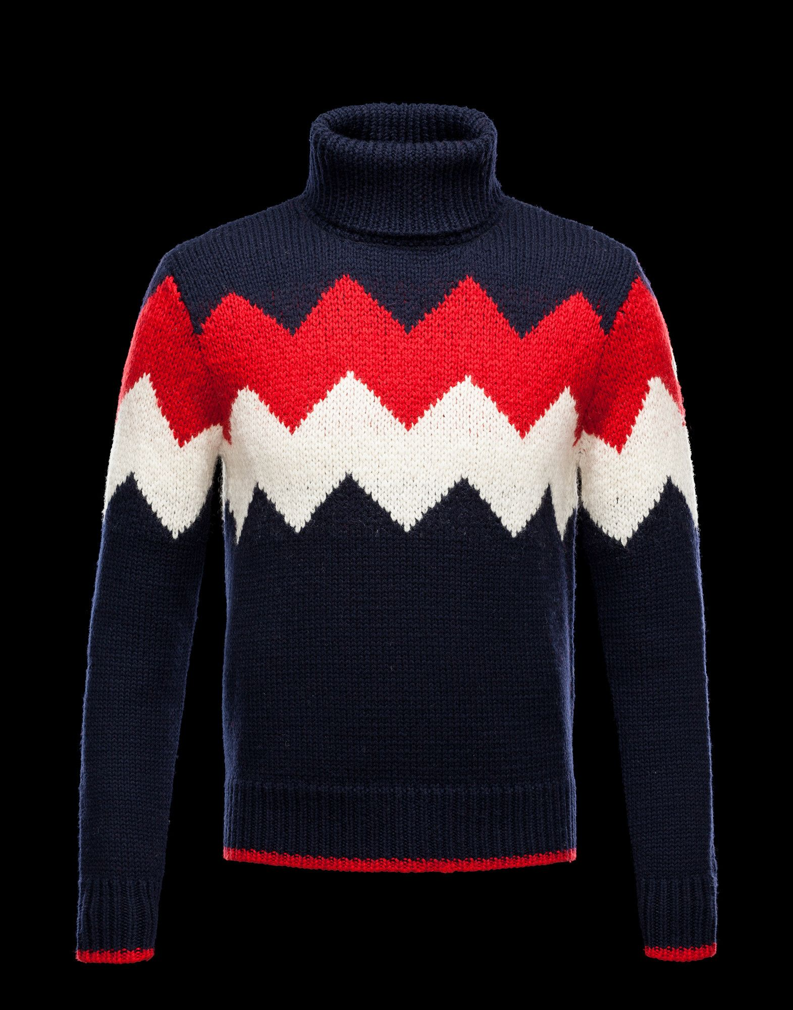 d0f505b2b MONCLER Men - Fall Winter 12 - KNITWEAR - High neck sweater ...