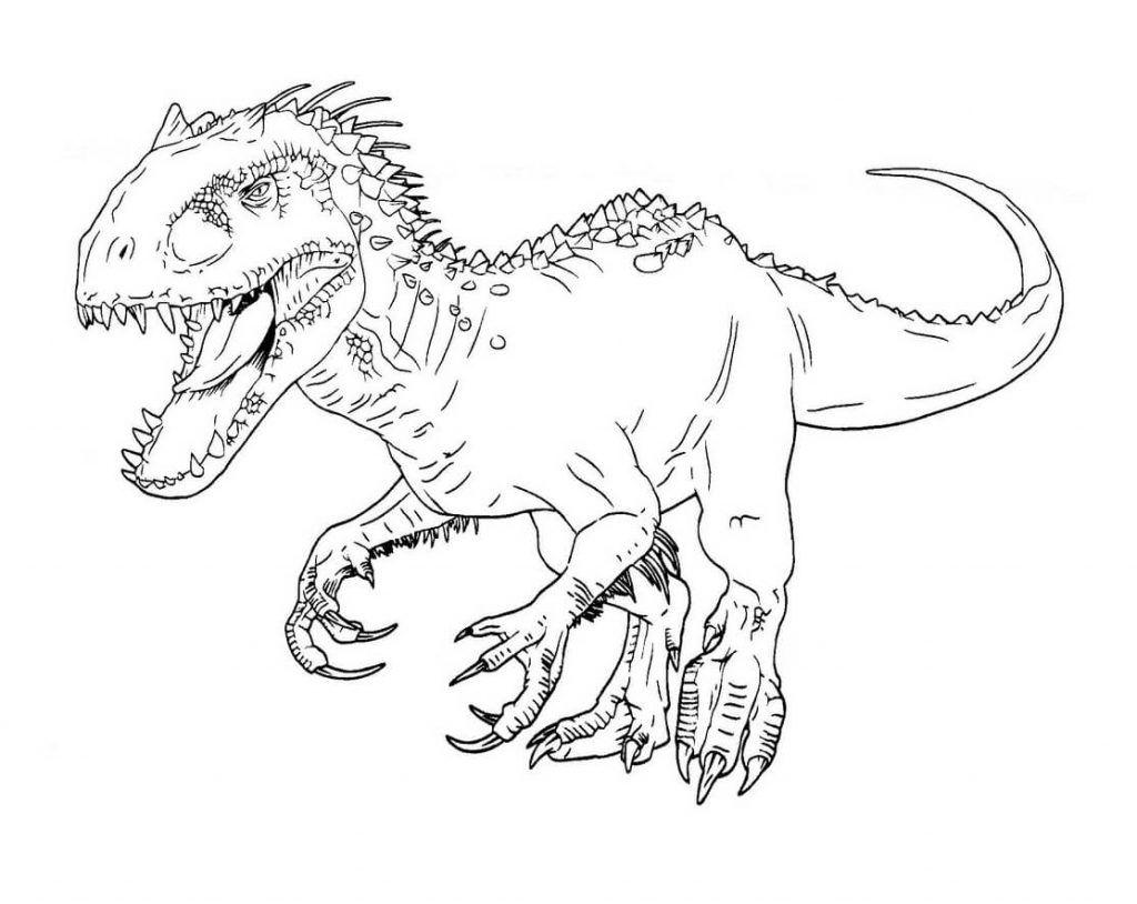 Dinosaurio Para Colorear Mandalas Para Con Dibujos De: Dibujos Dinosaurios Colorear