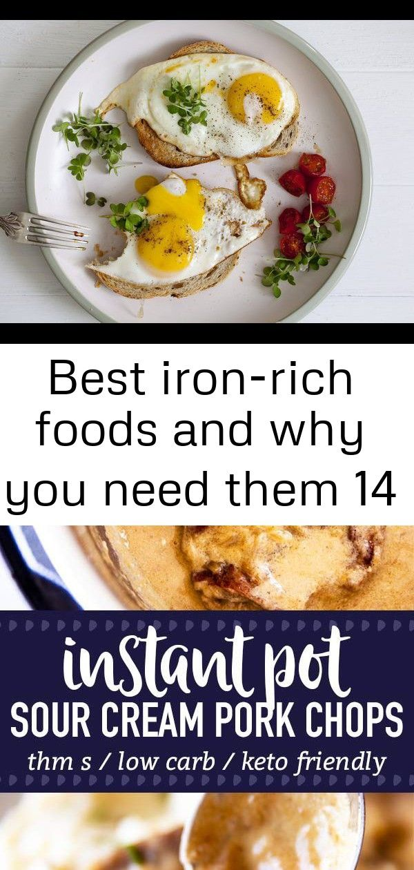 Best iron-rich foods and why you need them 14 #sourcreamnoodlebake