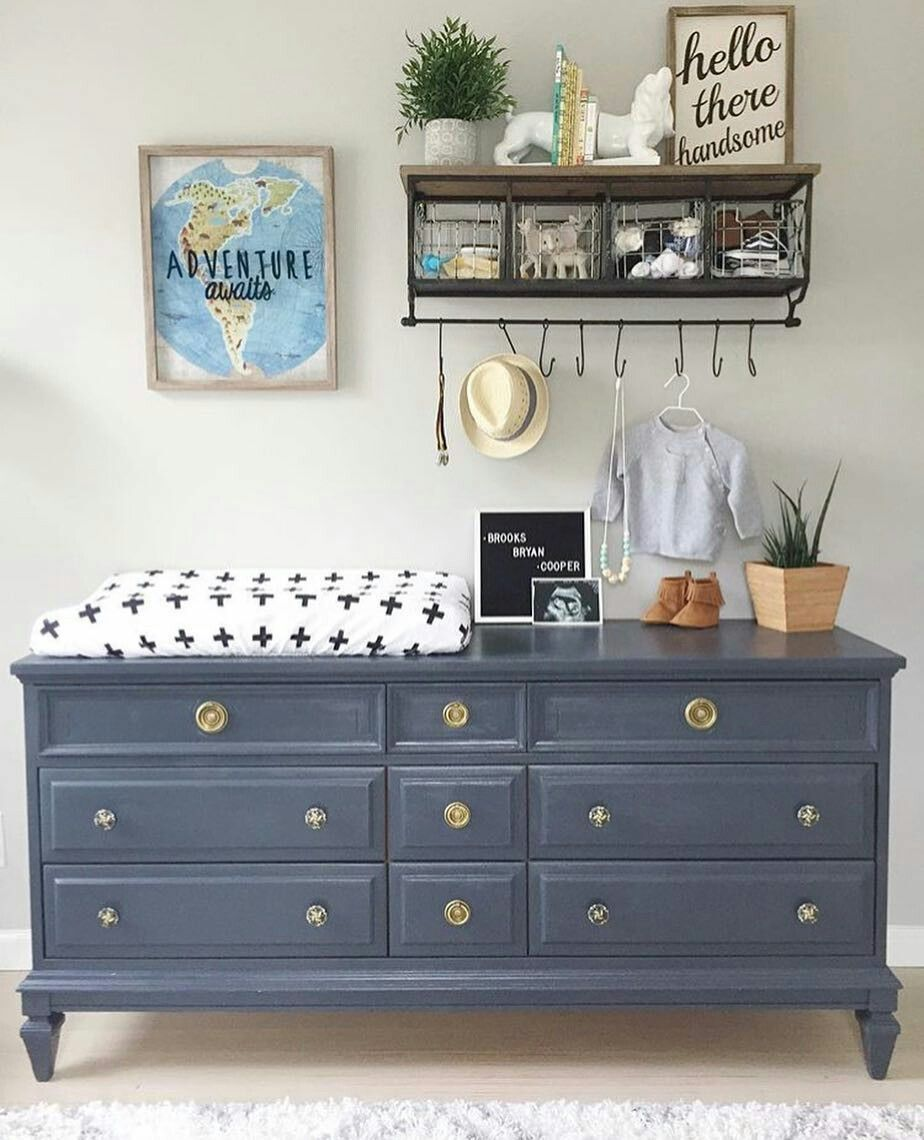 The Colour I Wish I Had Painted The Boys Dresser Nursery
