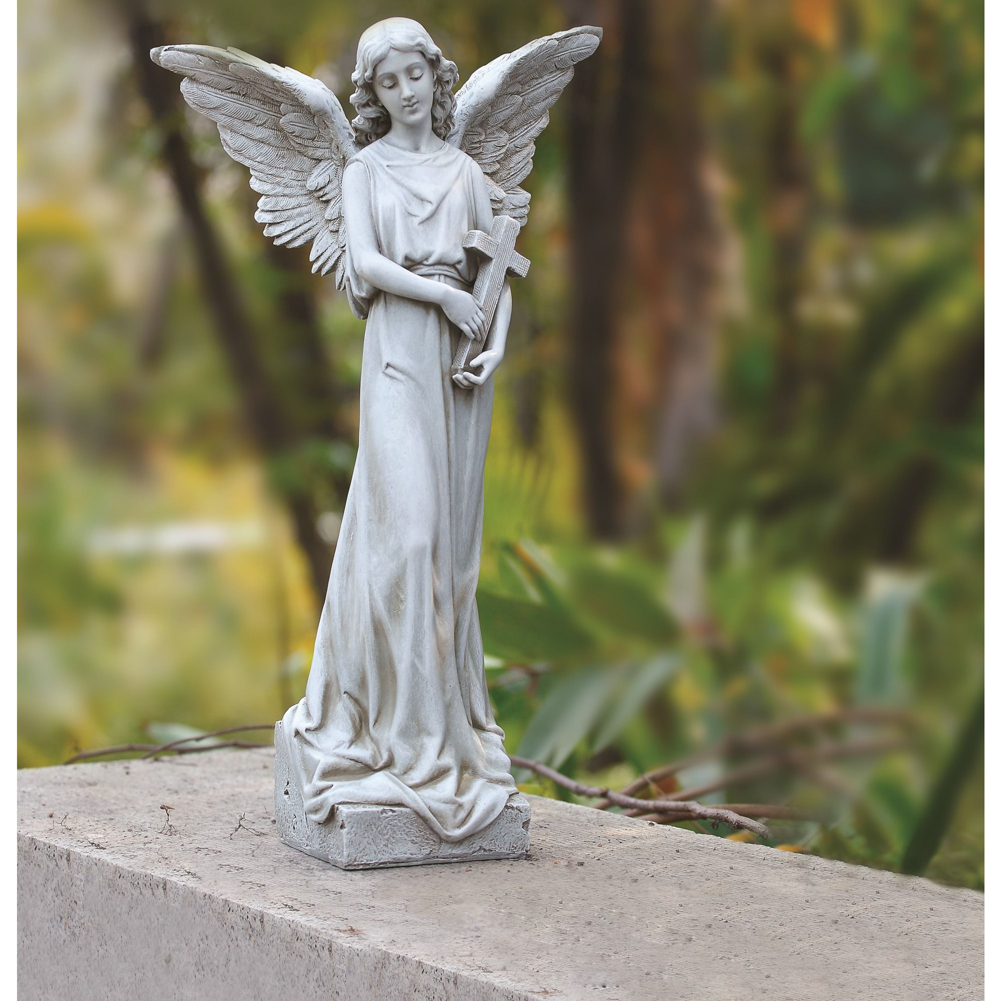 Small Angel Statues For Graves: A Lovely Memorial Gift To Keep In The Garden In Memory Of