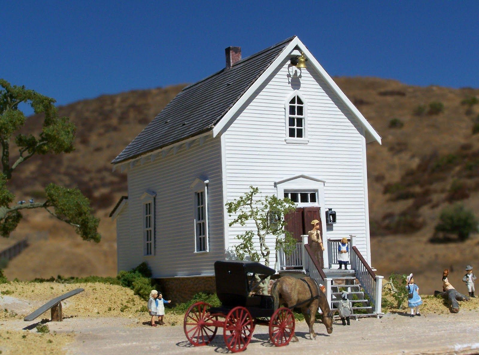 Little House On The Prairie School