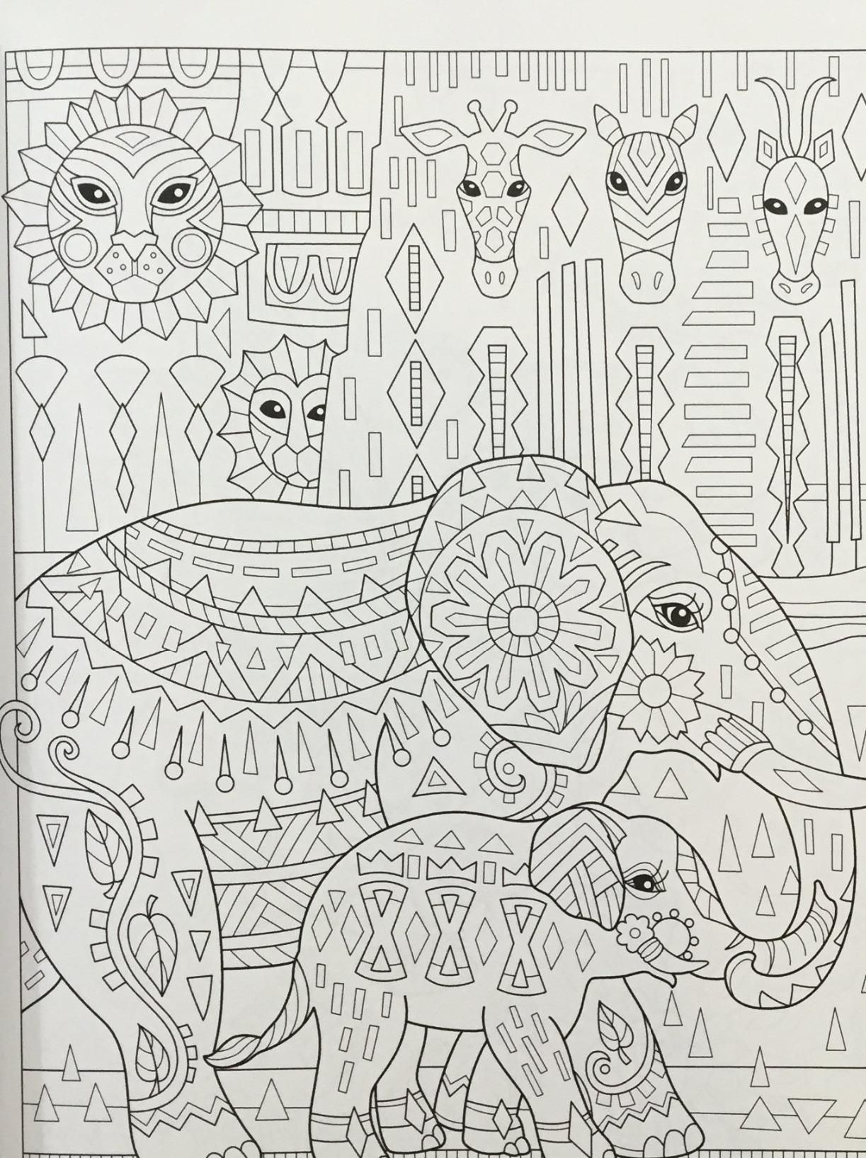 elegant printable adult coloring pages - photo#21