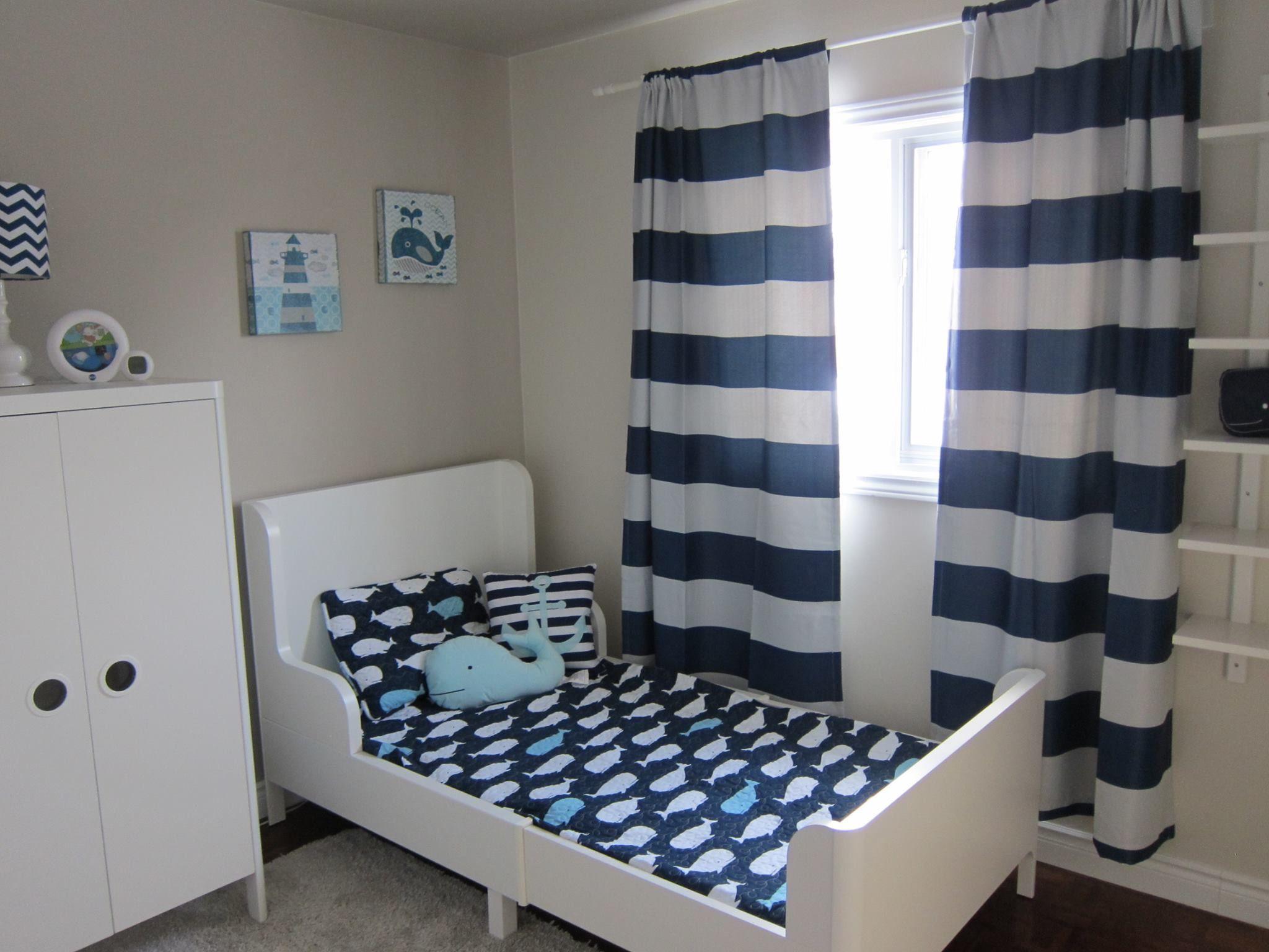 La Chambre De Mon Fils De 2 Ans Mobilier Busunge Ikea
