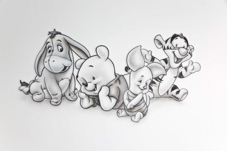 Winnie the Pooh Babies – Kinderkunst – Neue Ideen – Zeichnungen – #Babie …   – Zeichnungen