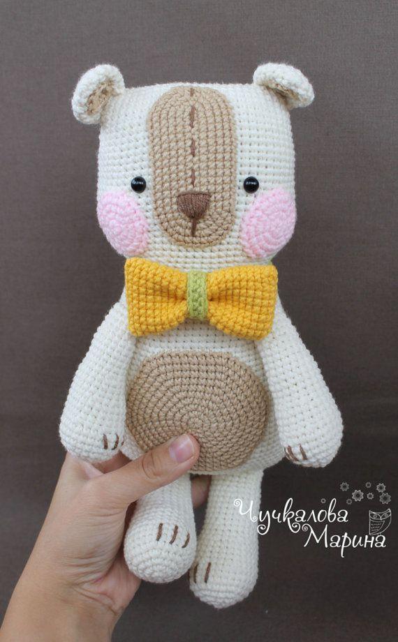 PATTERN The Bear for embrace PDF crochet toy pattern | Amigurumi ...