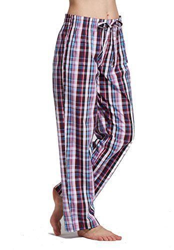 9d3e84fd54e CYZ Women s 100% Cotton Woven Sleep Pajama Pants-F110-XS .