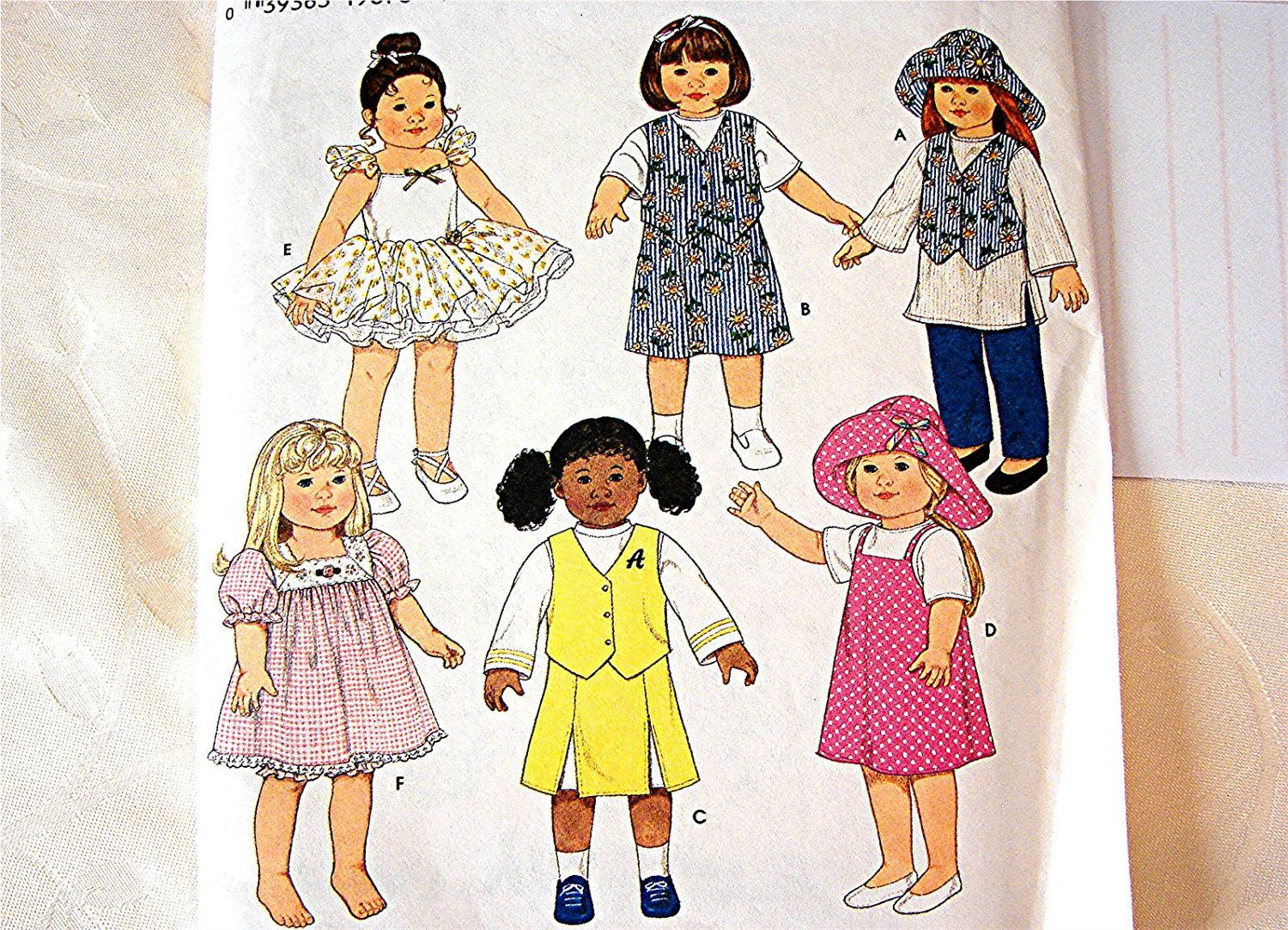 Simplicity 18 inch Doll Clothes Sewing Pattern Ballerina Tutu Cheerleader Dress. $14.50, via Etsy. #18inchcheerleaderclothes Simplicity 18 inch Doll Clothes Sewing Pattern Ballerina Tutu Cheerleader Dress. $14.50, via Etsy. #18inchcheerleaderclothes