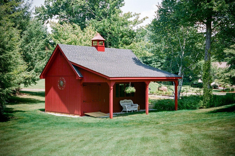 Grand Victorian Single Bay Garage Photos The Barn Yard Great